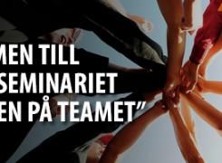 """Inbjudan till HR-frukost """"Ta pulsen på teamet"""" den 18 juni"""